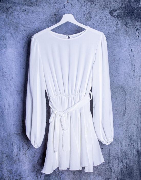abito bianco moda mare